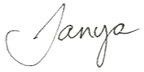 BLOG post signature